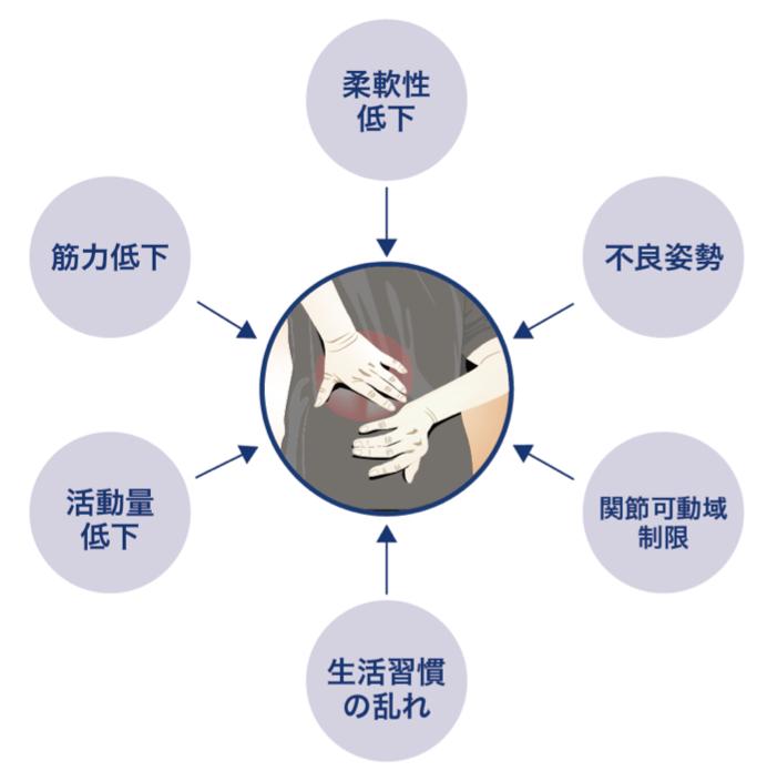 痛みの根本原因|埼玉県戸田市の戸田スポーツ接骨院でリハビリを!